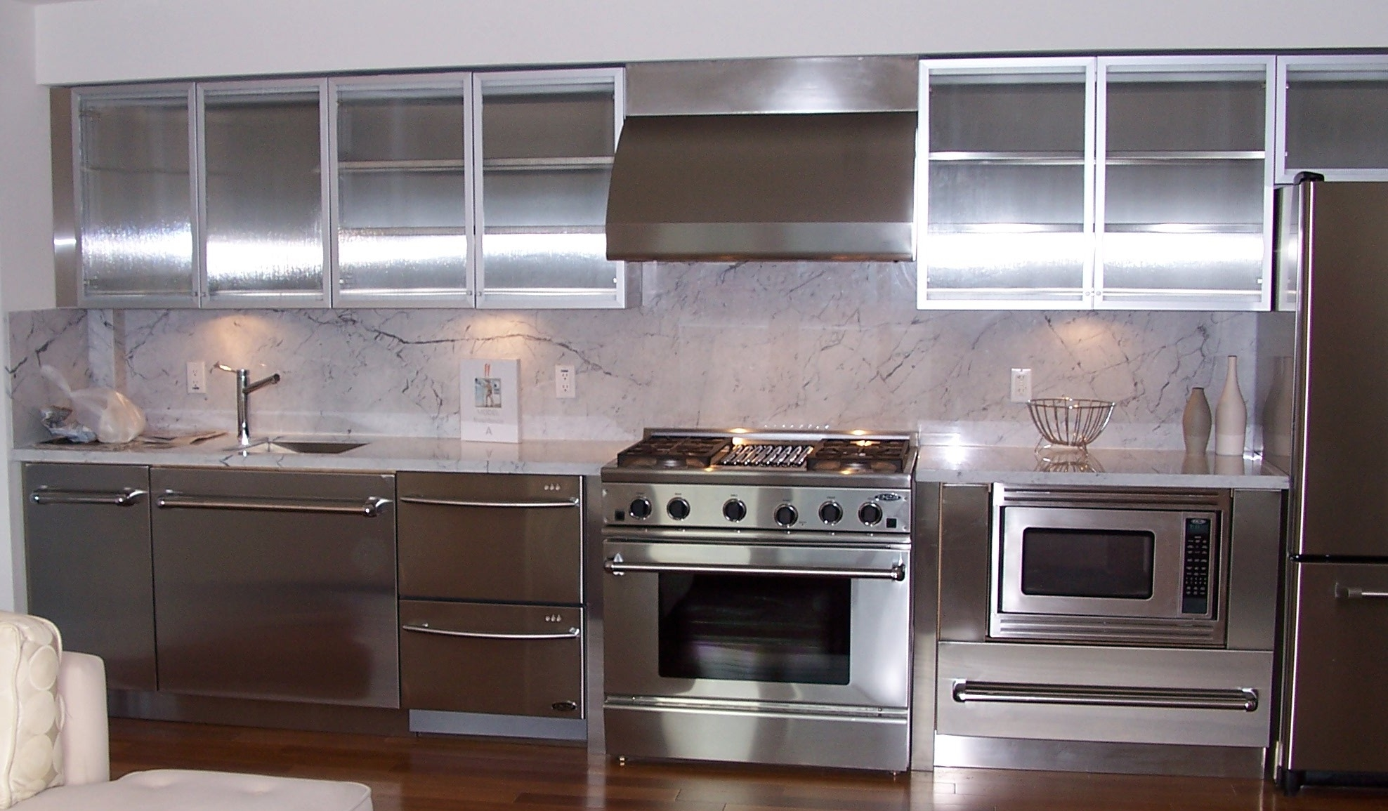 Stainless Steel Wall Cabinets Kitchen1976 X 1155