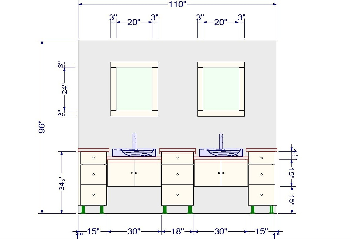 Standard Height For Kitchen Wall Cabinets