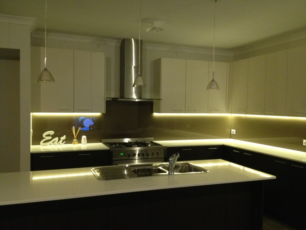 Strip Lighting For Kitchen Cabinets