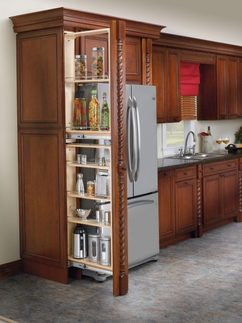 Tall Kitchen Cabinet Pull Out
