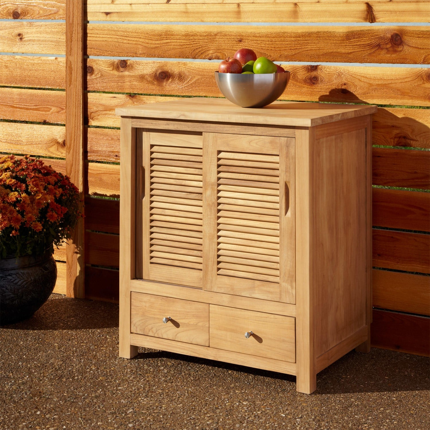 Teak Outdoor Kitchen Cabinet Doors