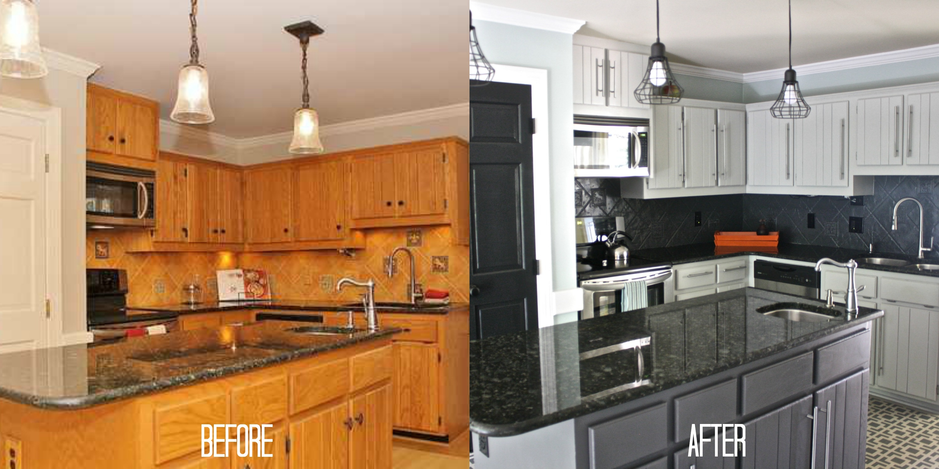 Transform Old Kitchen Cabinets