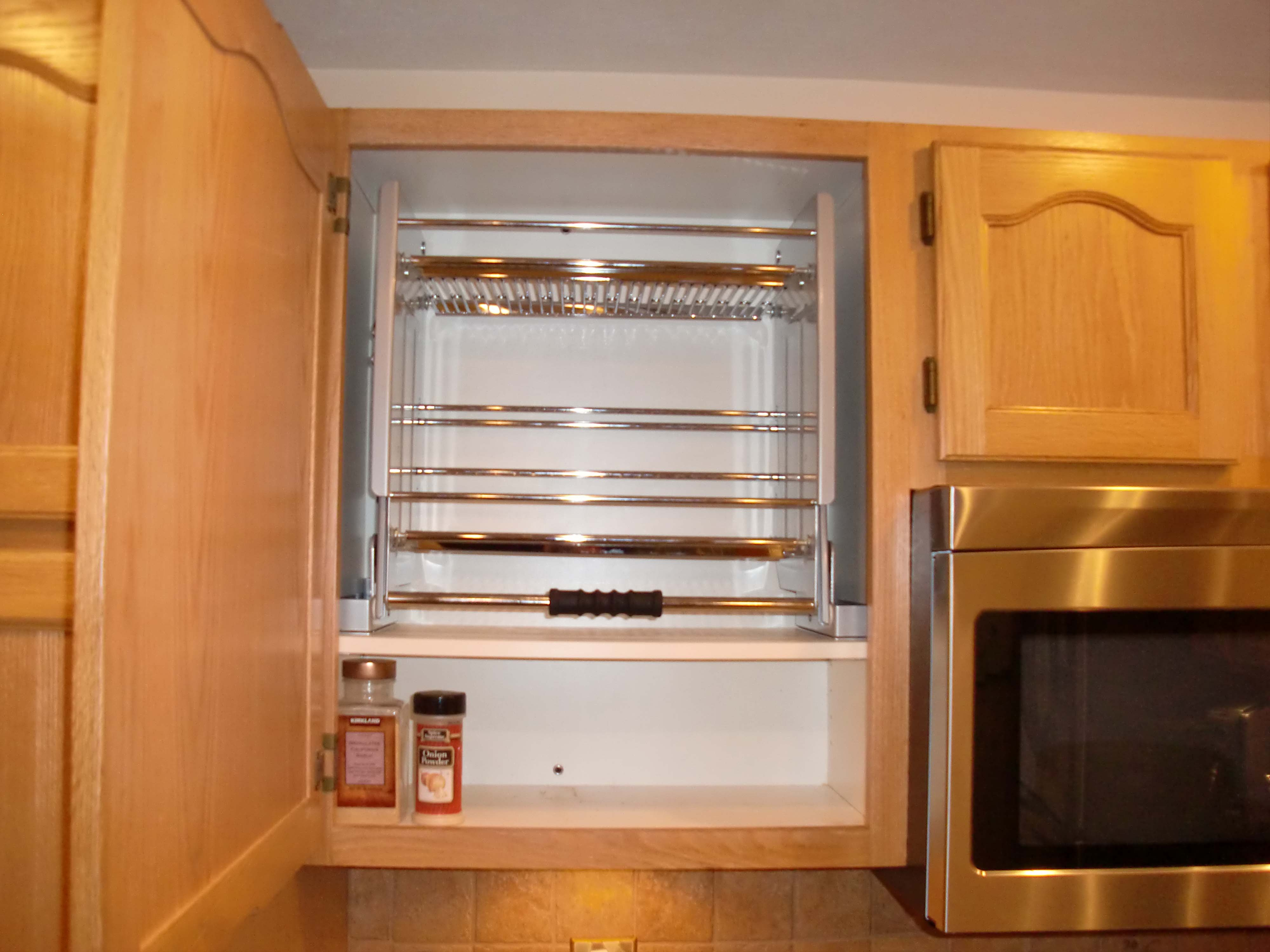 Upper Kitchen Cabinet Pull Outs