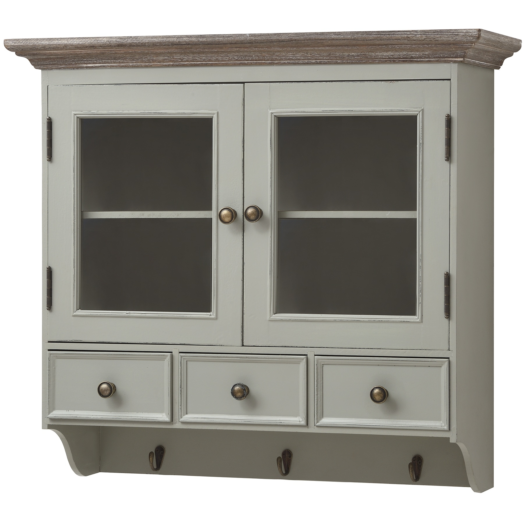 Wall Mounted Kitchen Display Cabinets