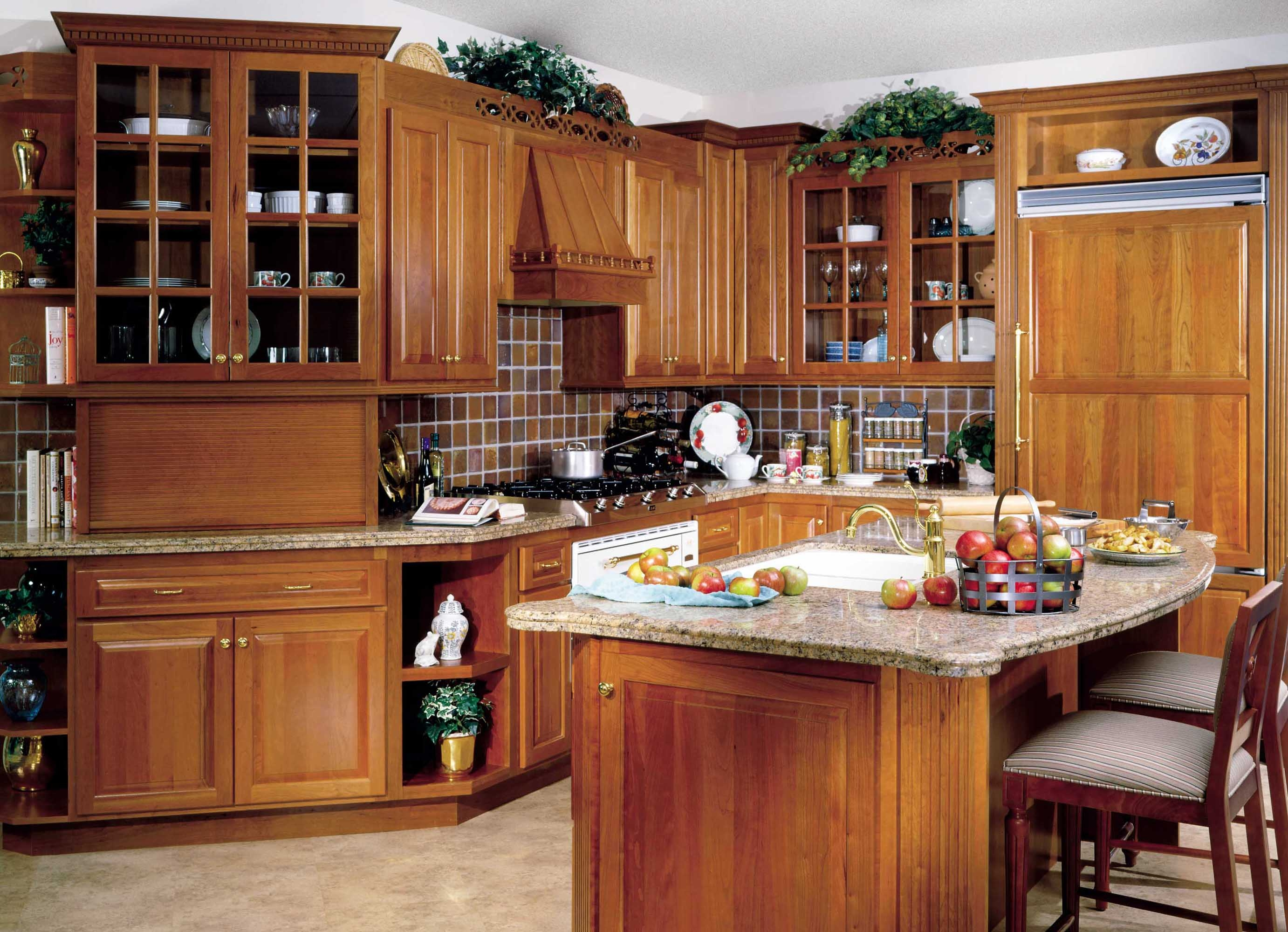 Which Wood For Kitchen Cabinets