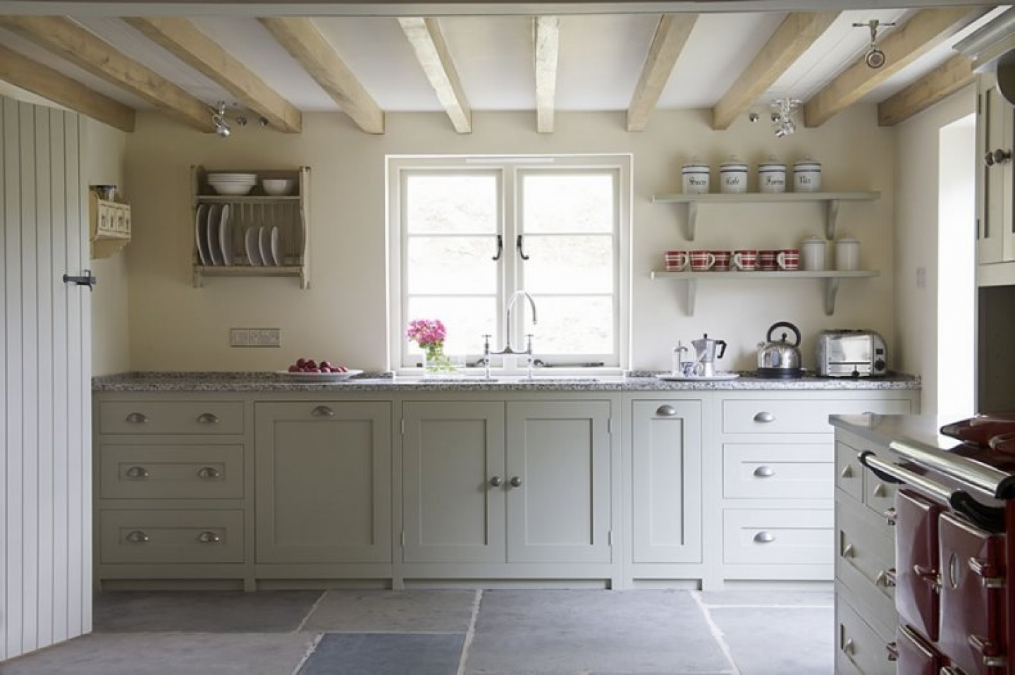 White Country Style Kitchen Cabinet Doors