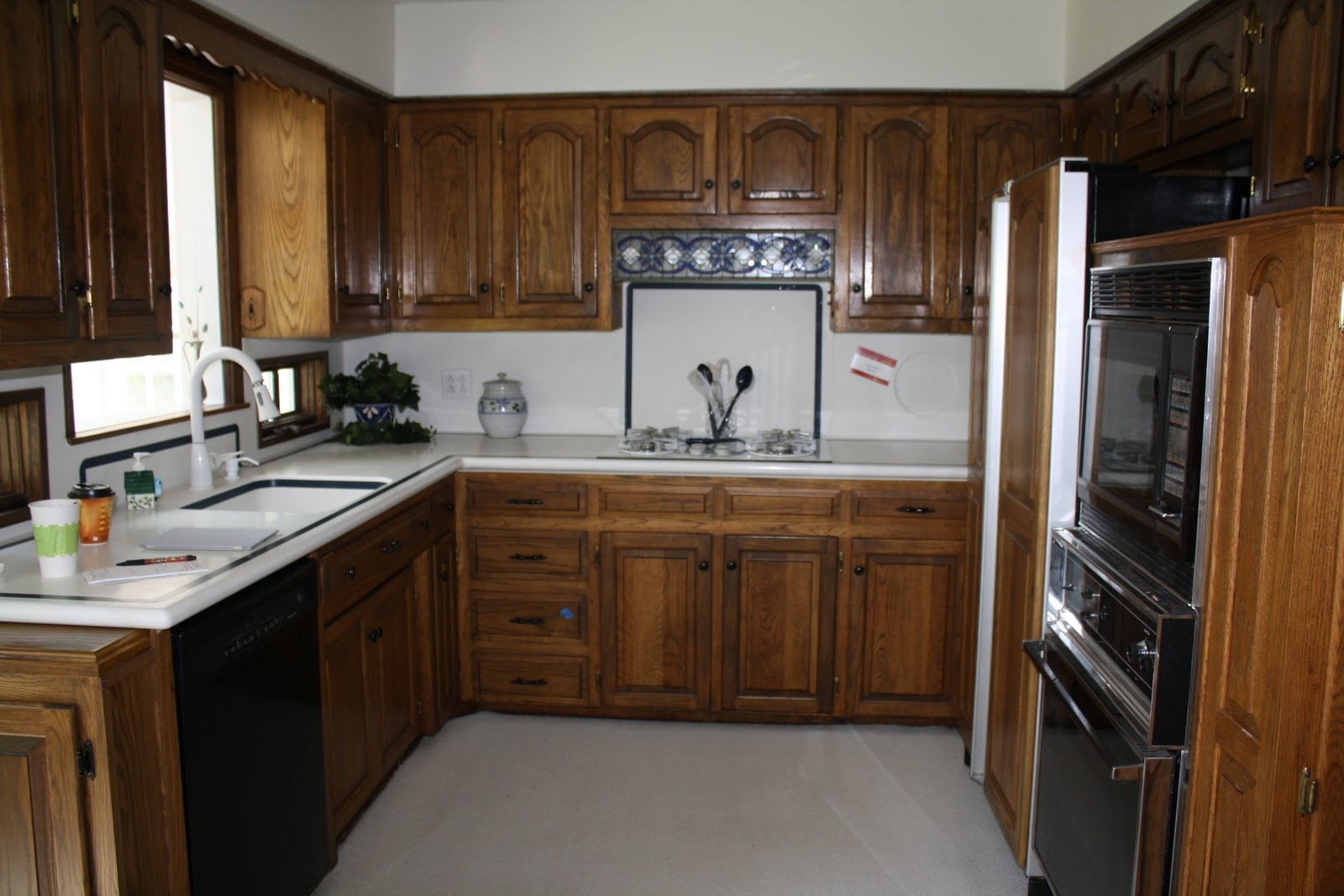 White Kitchen Cabinet Updates