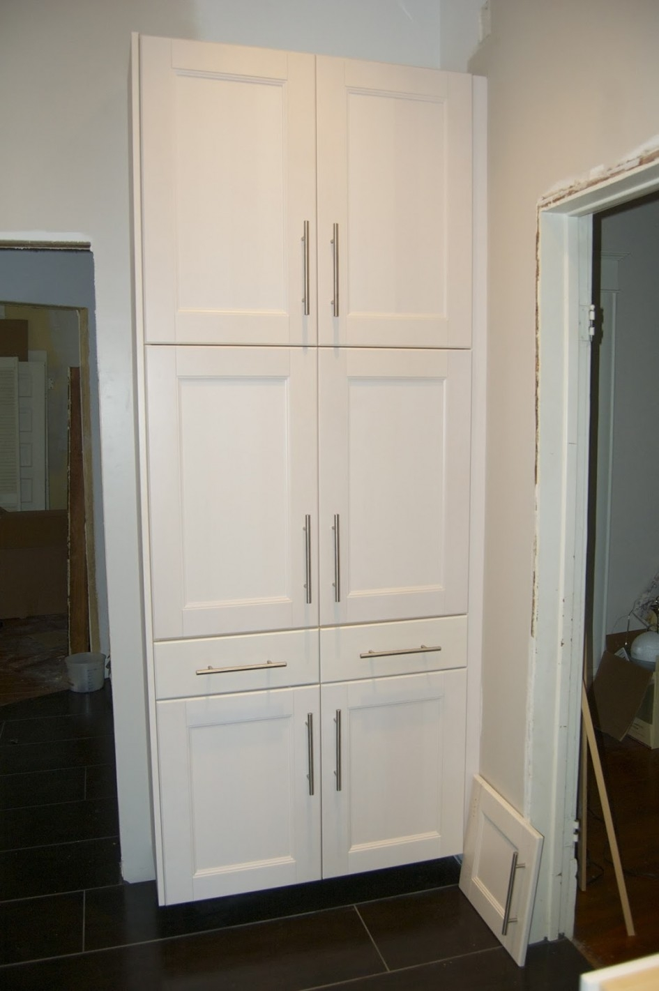 Permalink to White Kitchen Pantry Cupboard