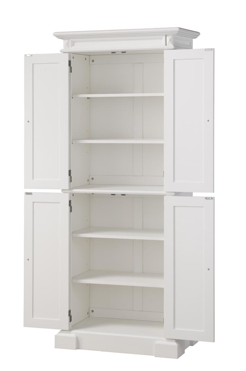 White Pantry Cabinets For Kitchen