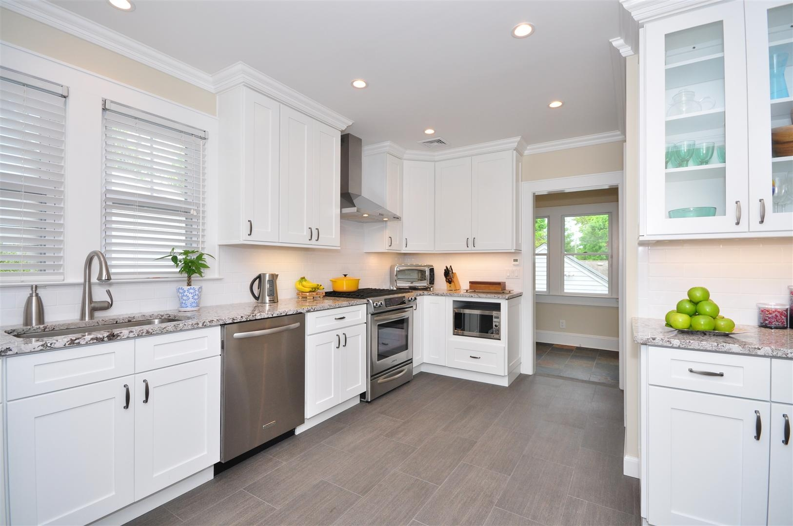 White Shaker Kitchen Cabinet Hardware