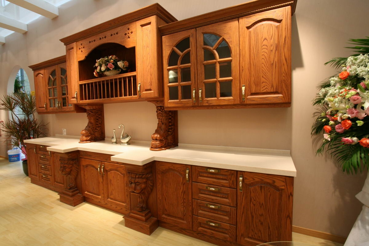 Permalink to Wooden Kitchen Cabinets Designs