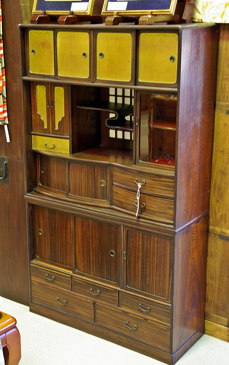 Antique Japanese Kitchen Cabinets