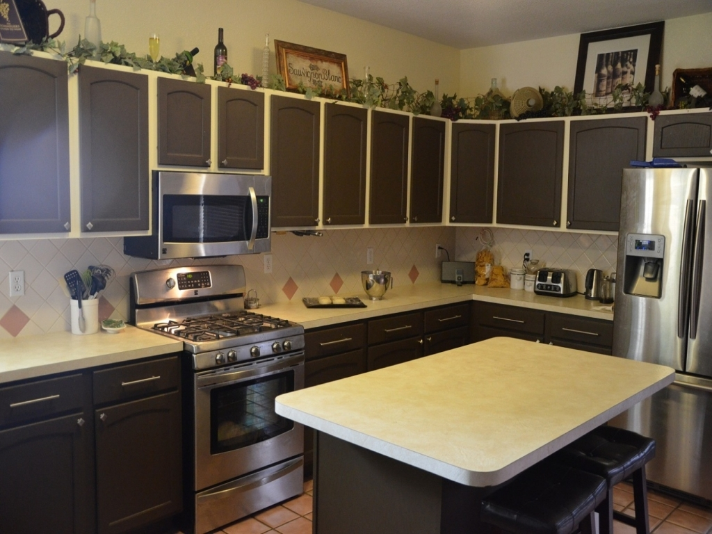 Color Ideas For Old Kitchen Cabinets