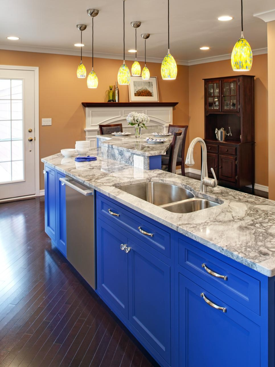 Colorful Kitchen Cabinets Ideas