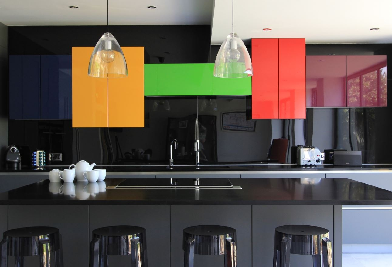 Permalink to Colorful Modern Kitchen Cabinets