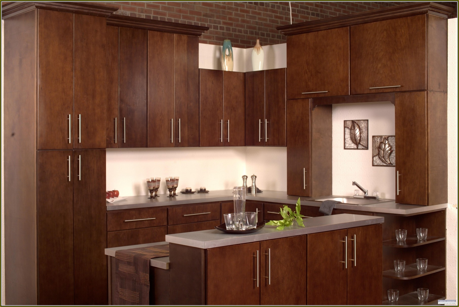 Permalink to Flat Door Kitchen Cabinets