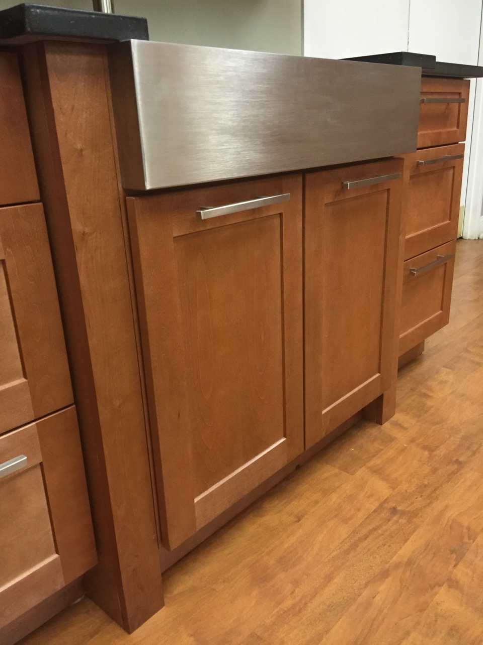 Galaxy Pecan Kitchen Cabinets