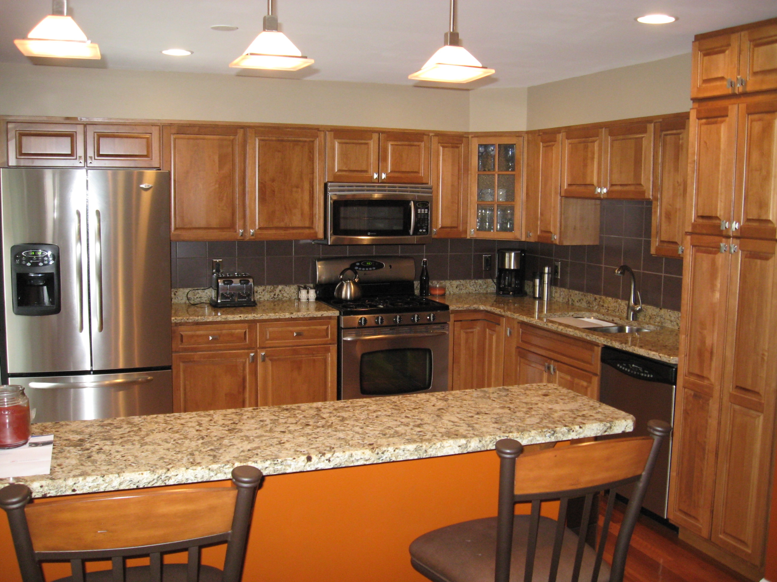 Permalink to Kitchen Cabinet Countertop Ideas