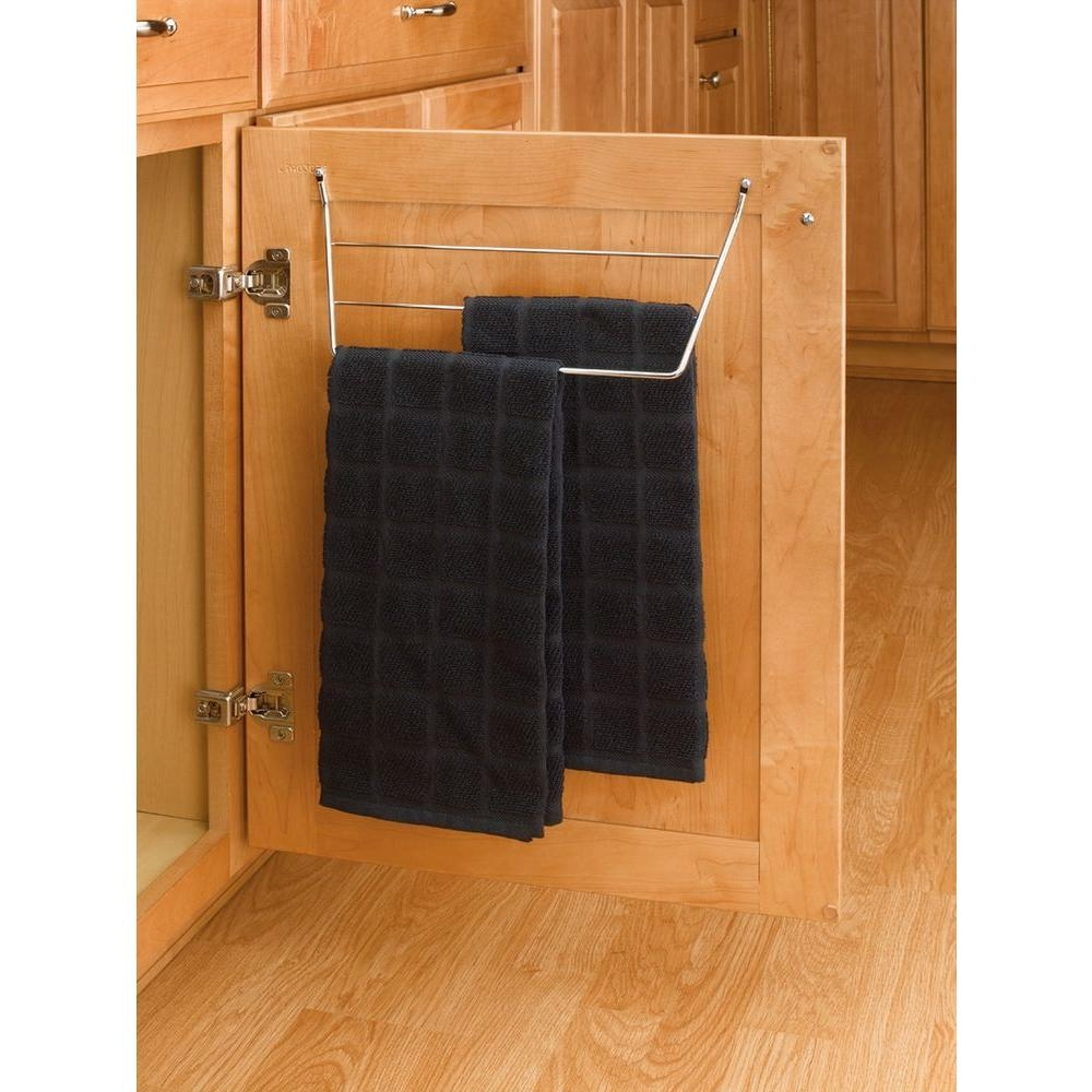 Kitchen Cabinet Door Towel Barrev a shelf 65 in h x 1275 in w x 35 in d chrome cabinet