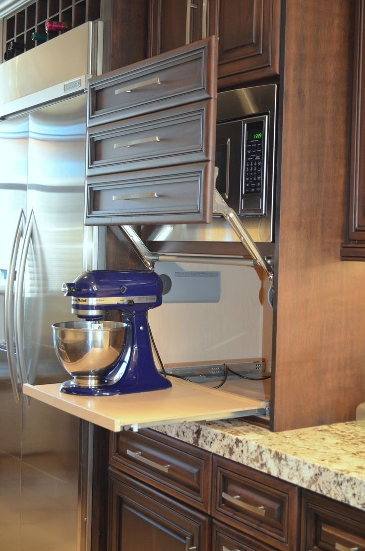 Kitchen Cabinet Hide Small Appliances