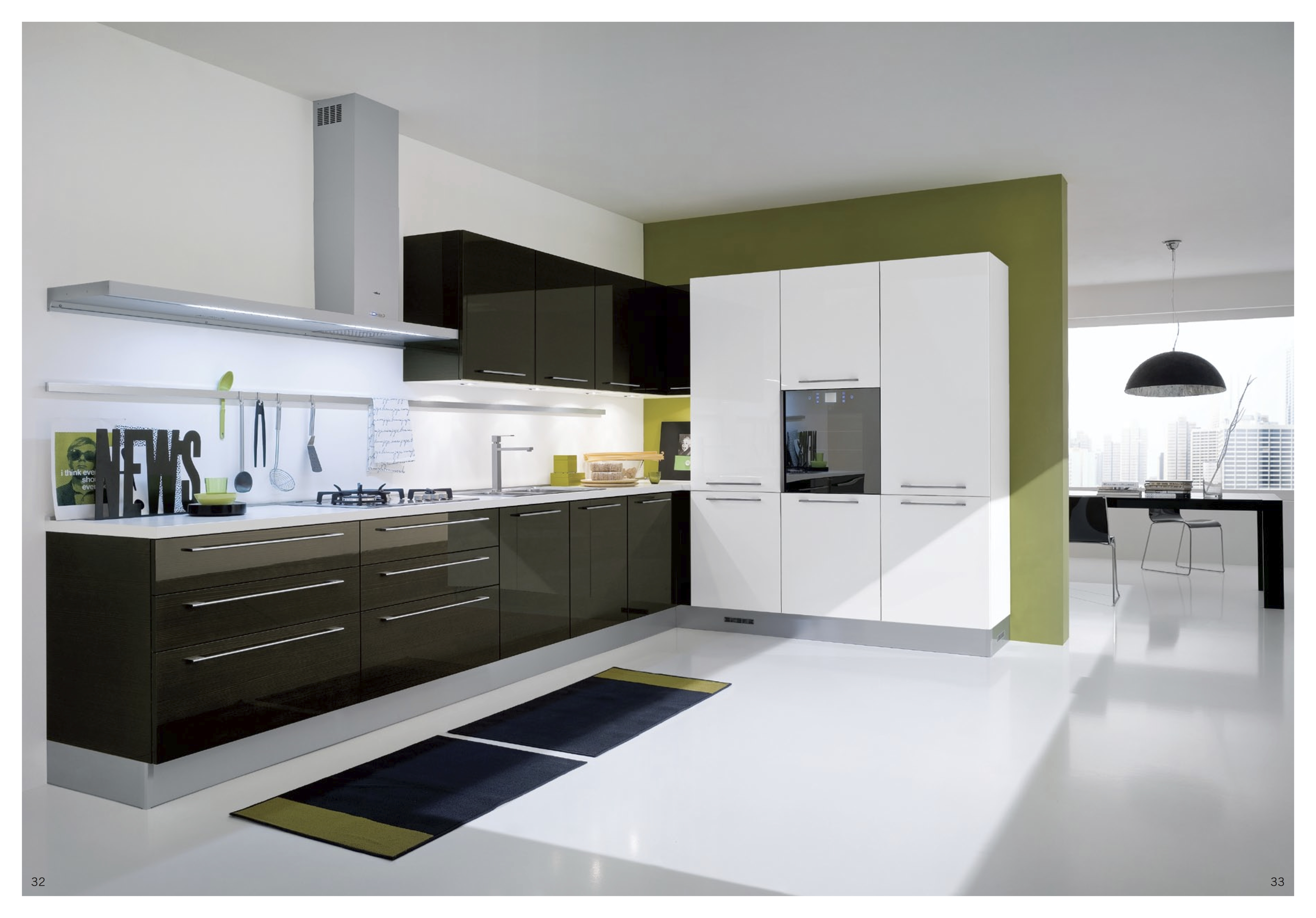 Kitchen Cabinet High Gloss Finish