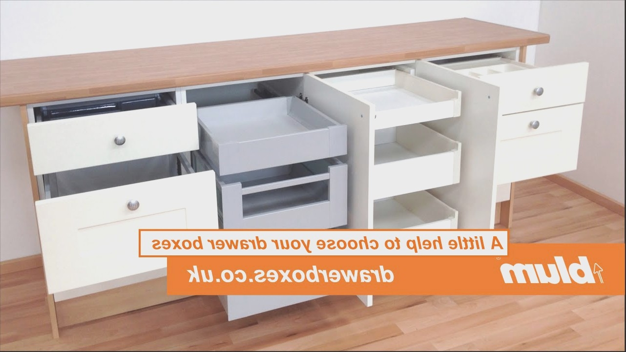 Kitchen Cabinet Plastic Drawer Boxes