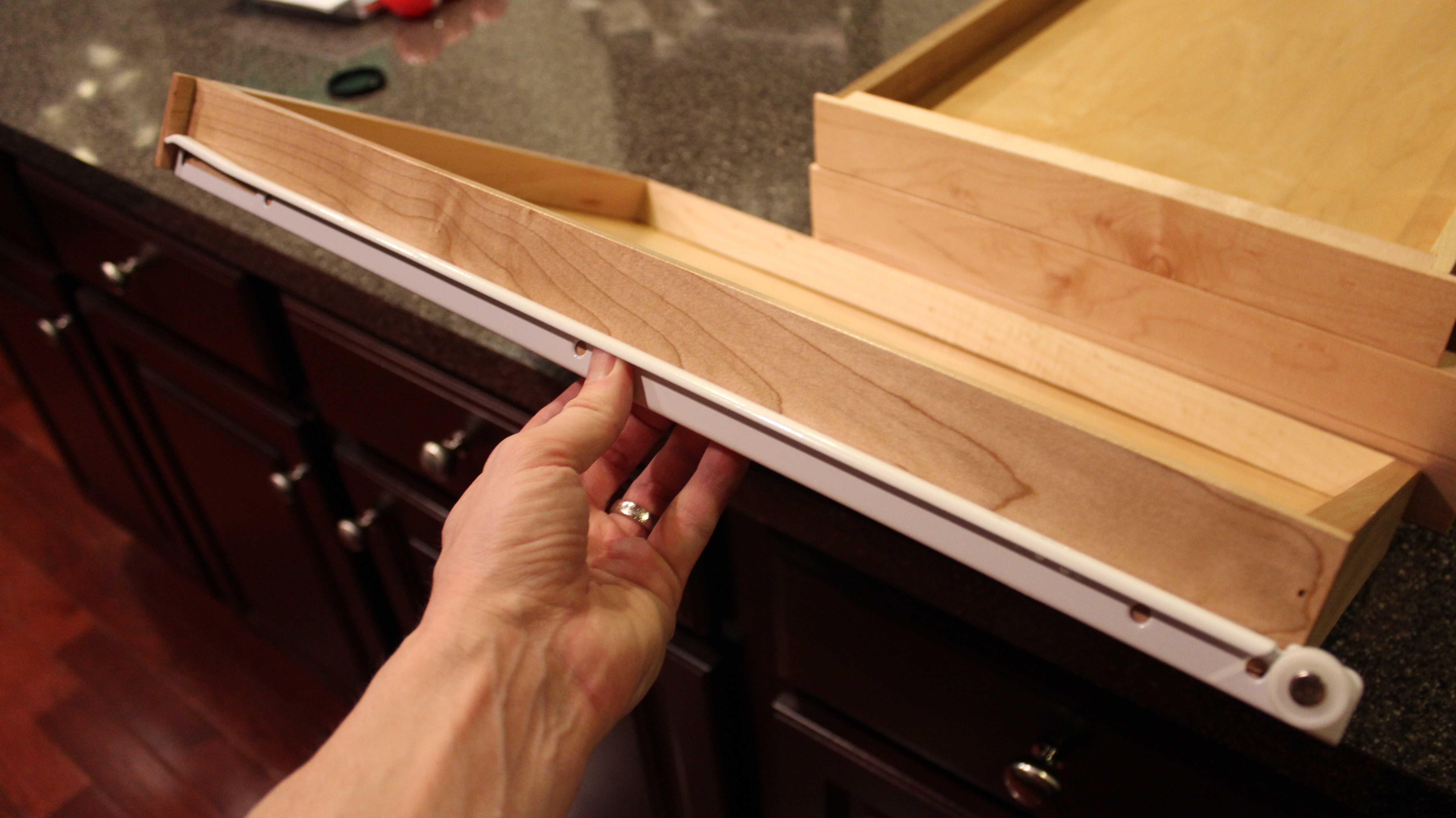 Kitchen Cabinet Sliding Drawer Hardware
