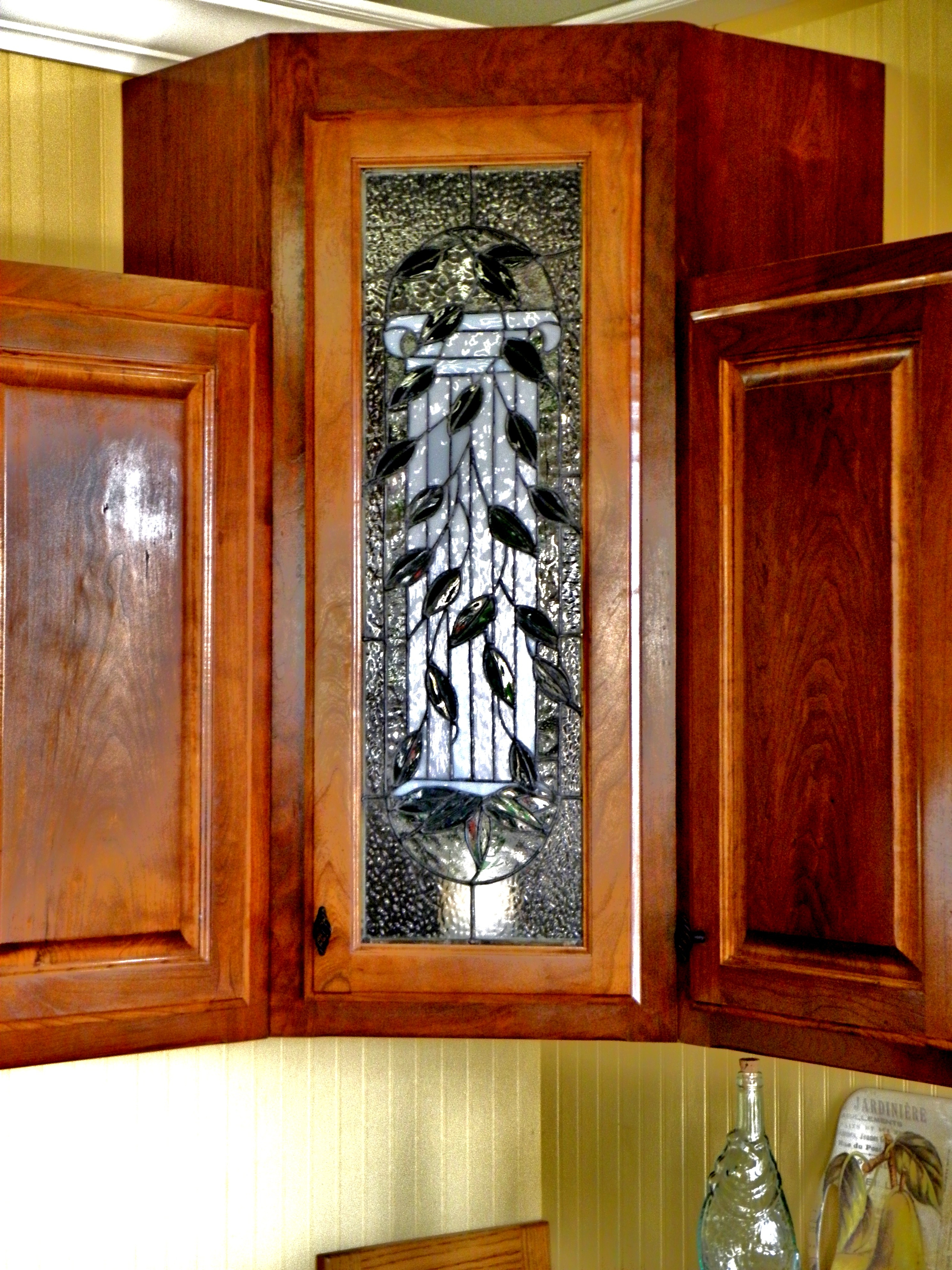 Kitchen Cabinet Stained Glass Patterns