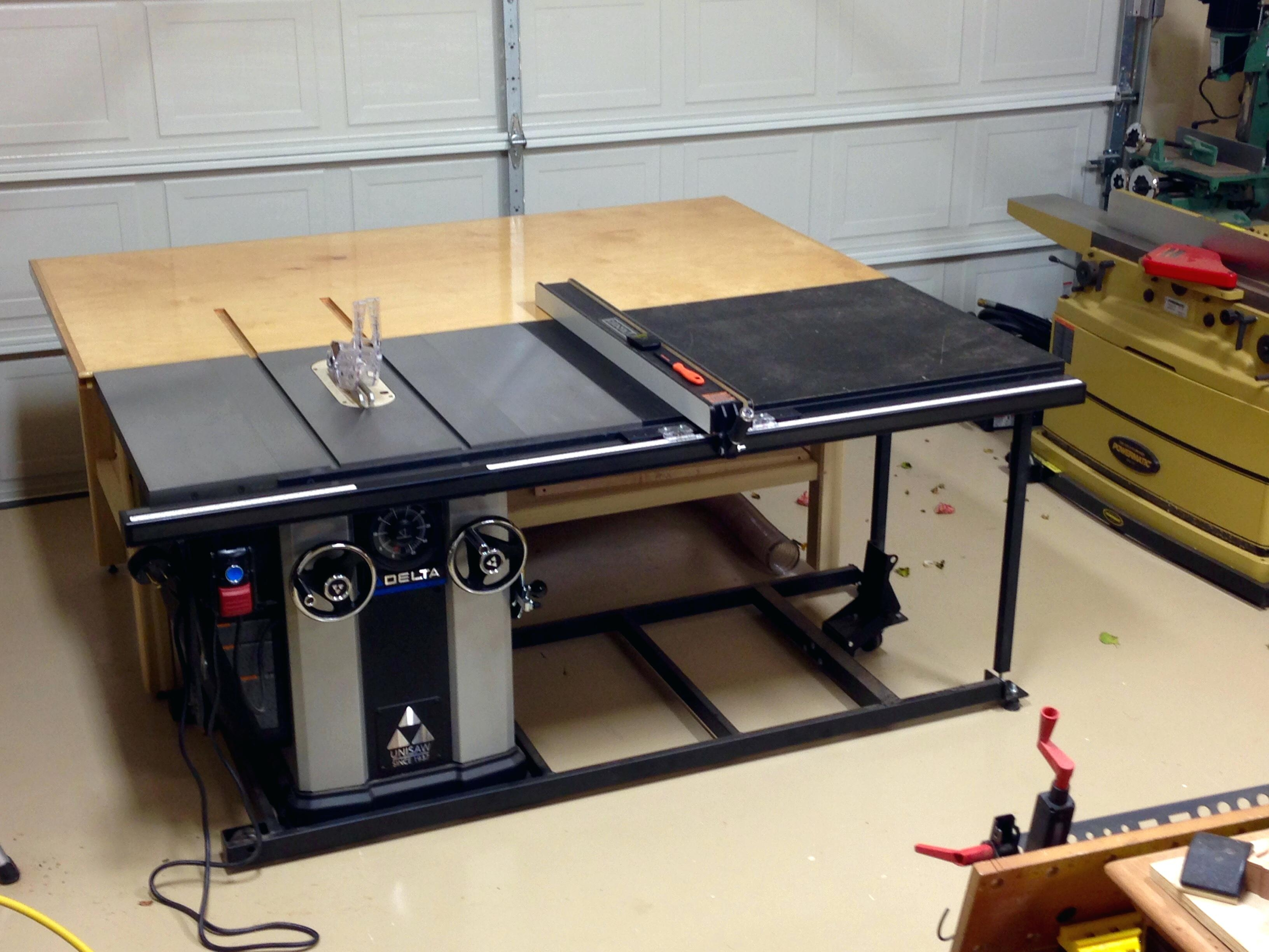 Kitchen Cabinet Table Saw