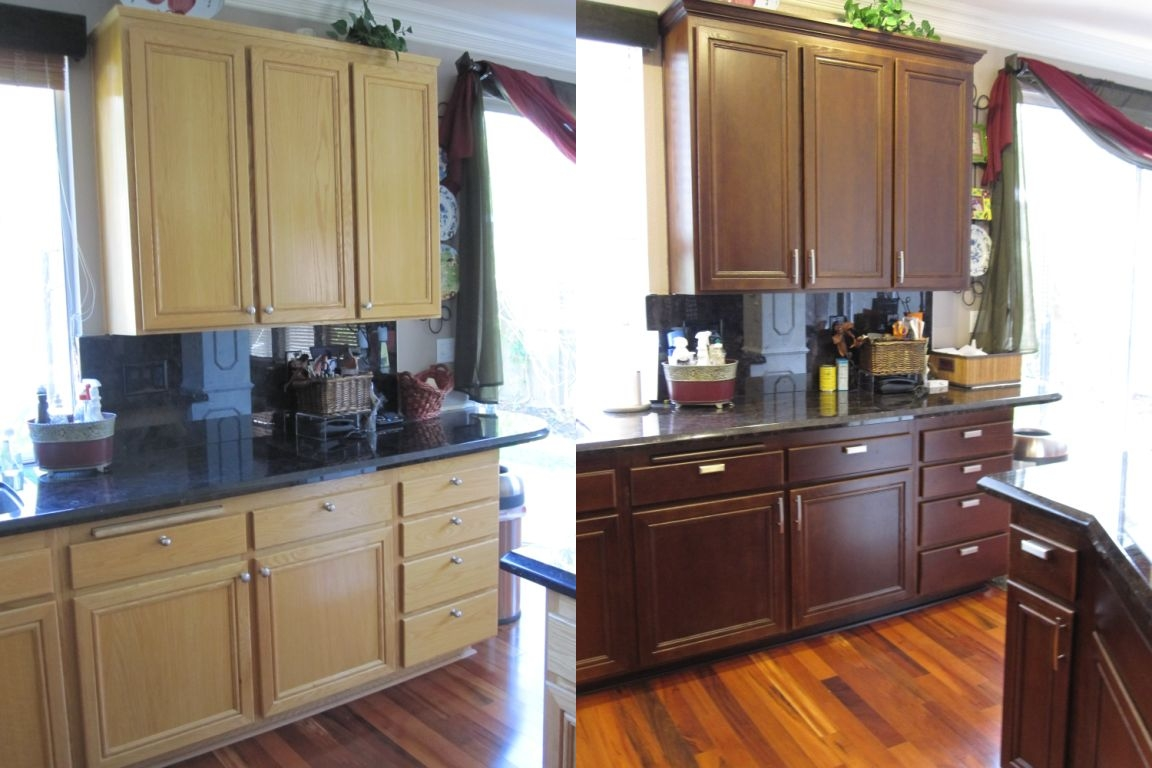 Kitchen Cabinets Color Change