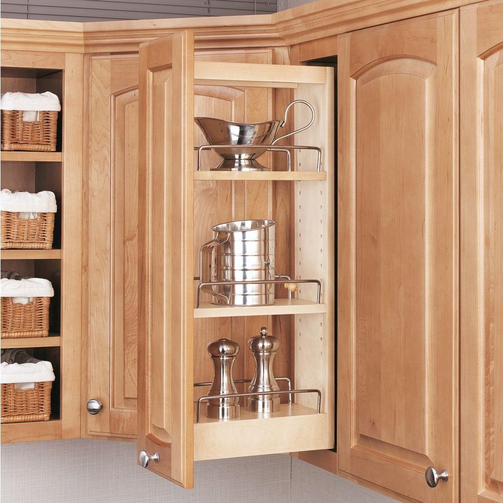 Kitchen Wall Cabinet Pull Outs