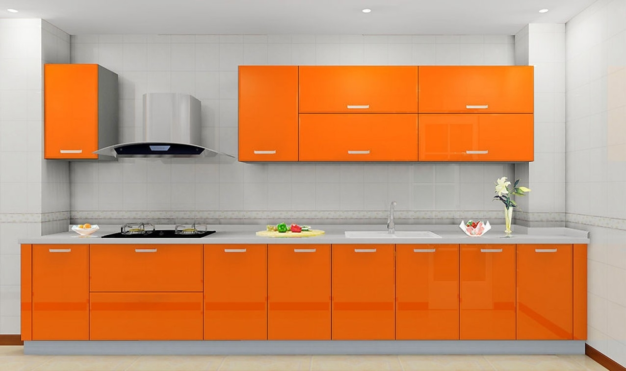 Kitchens And Cabinets Orange