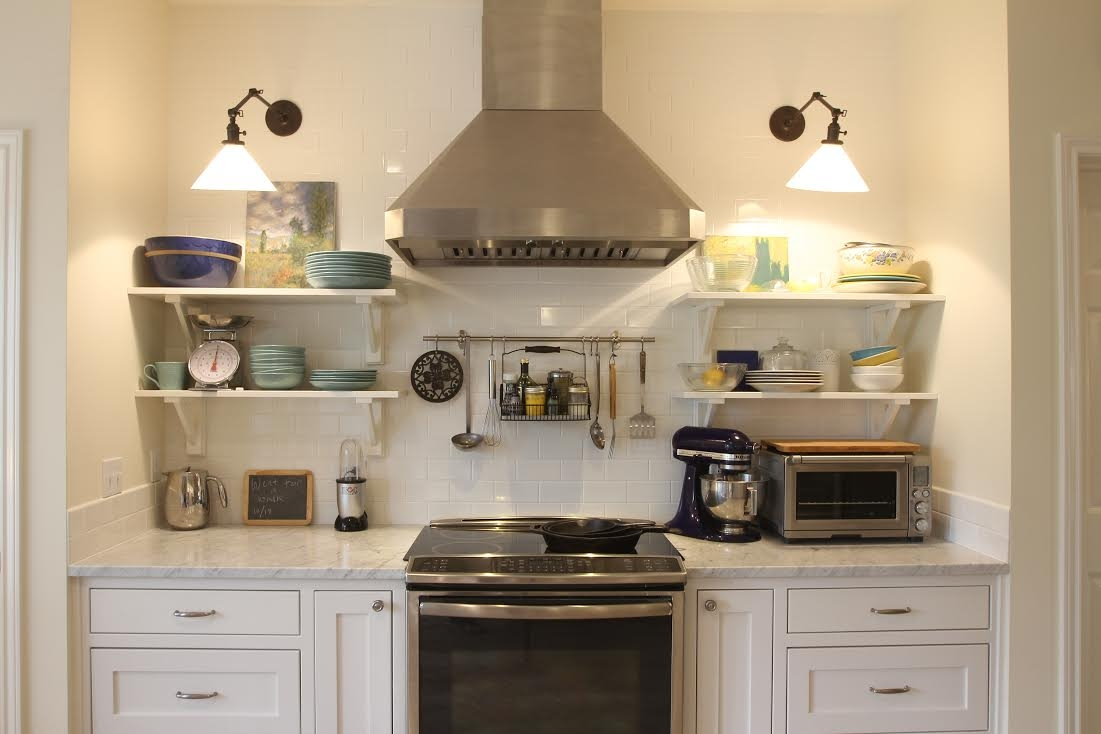 Kitchens Use Shelving Instead Of Cabinets1101 X 734
