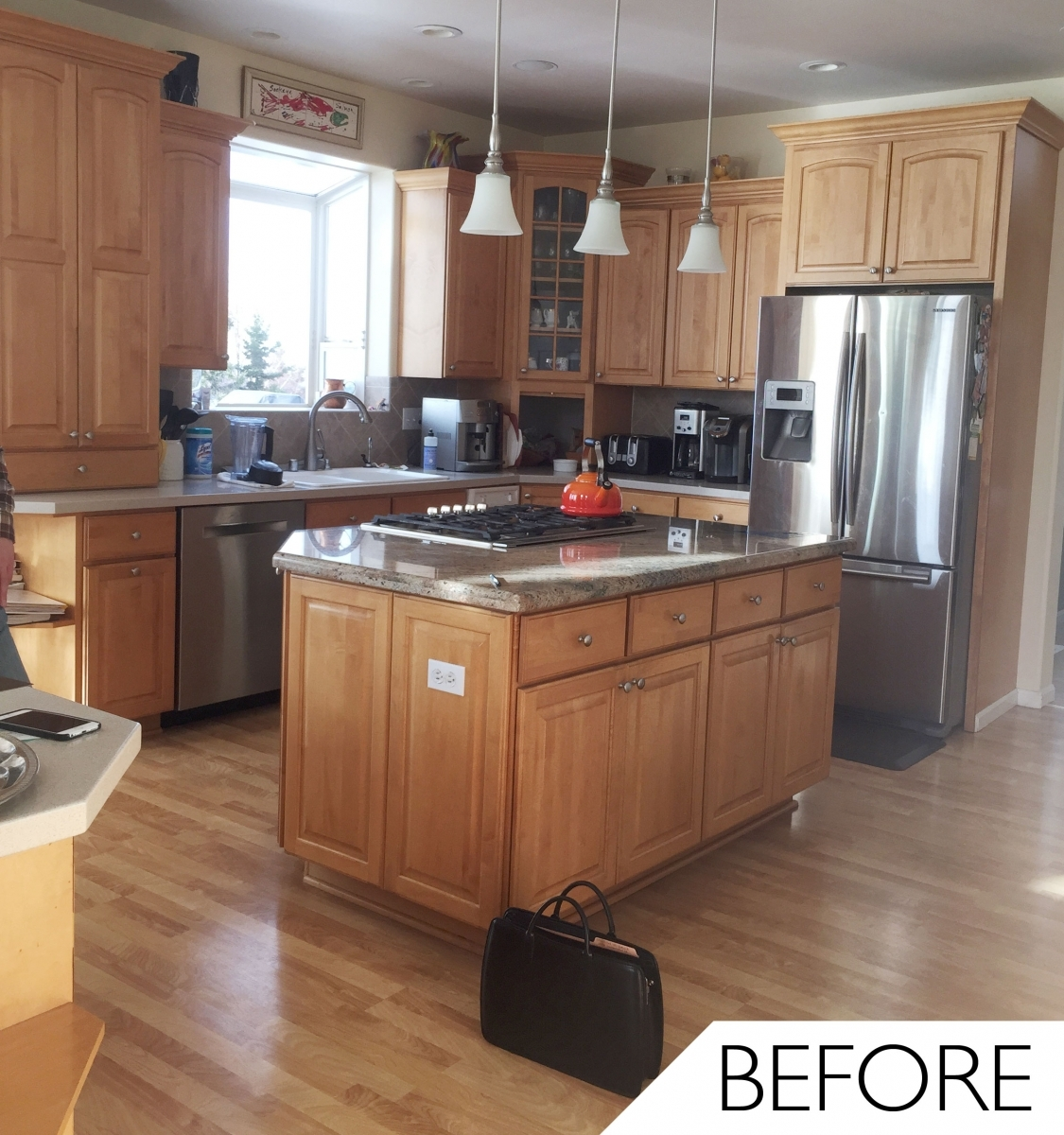 Permalink to Maple Cabinet Kitchen Makeover
