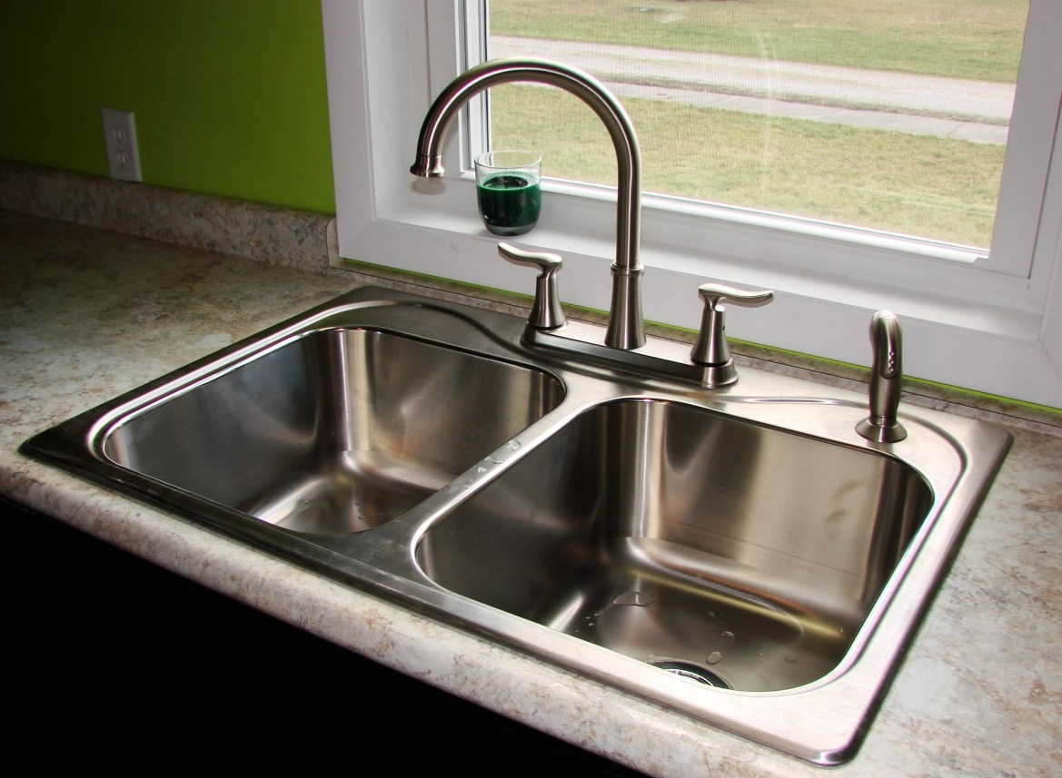 Metal Kitchen Sink And Cabinet Combo