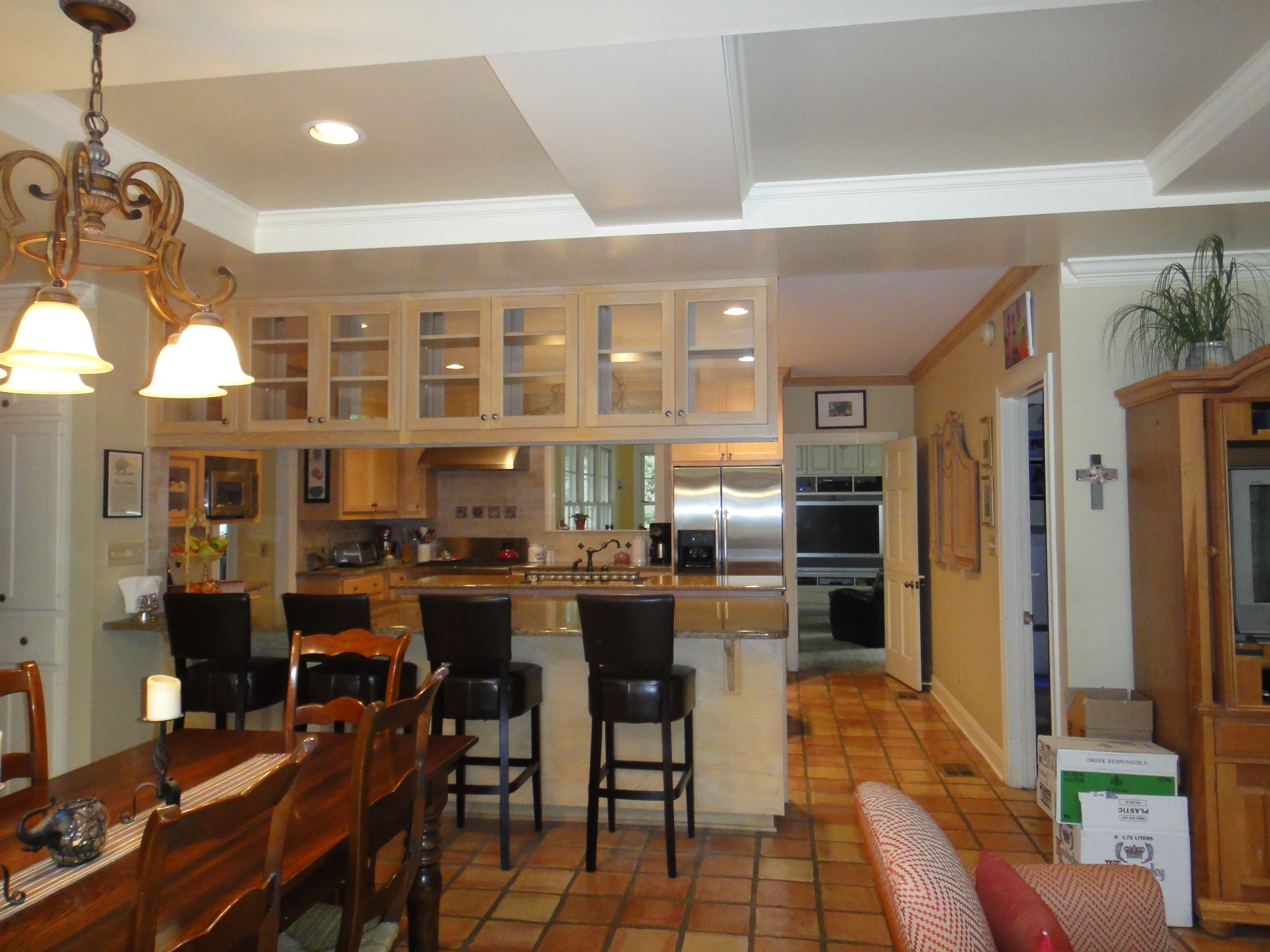 Modern Family Kitchen Cabinet Color