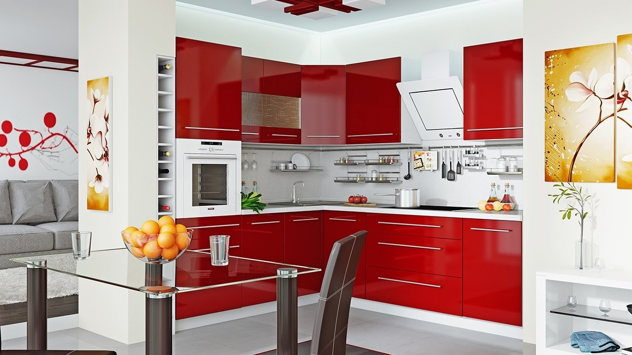Modern Kitchen Cabinets Small Spaces