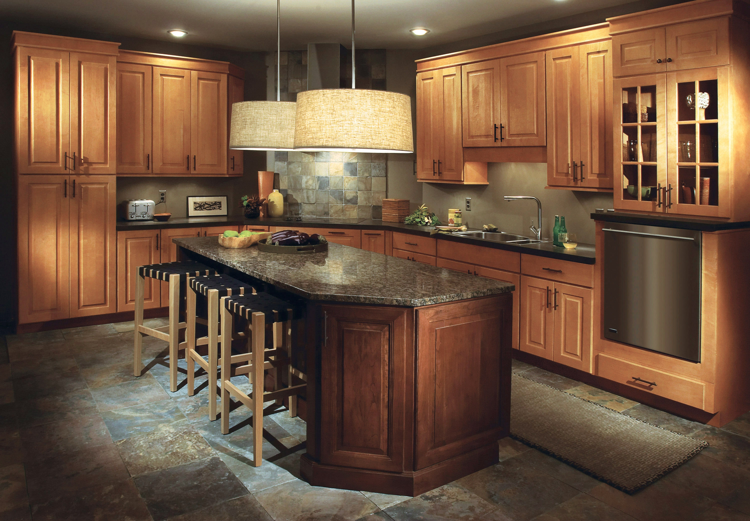 New Cypress Kitchen Cabinets