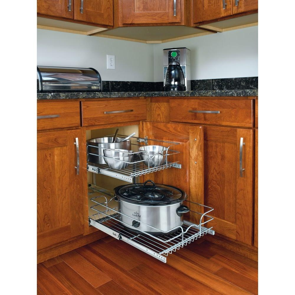 Pull Out Wire Baskets For Kitchen Cabinets