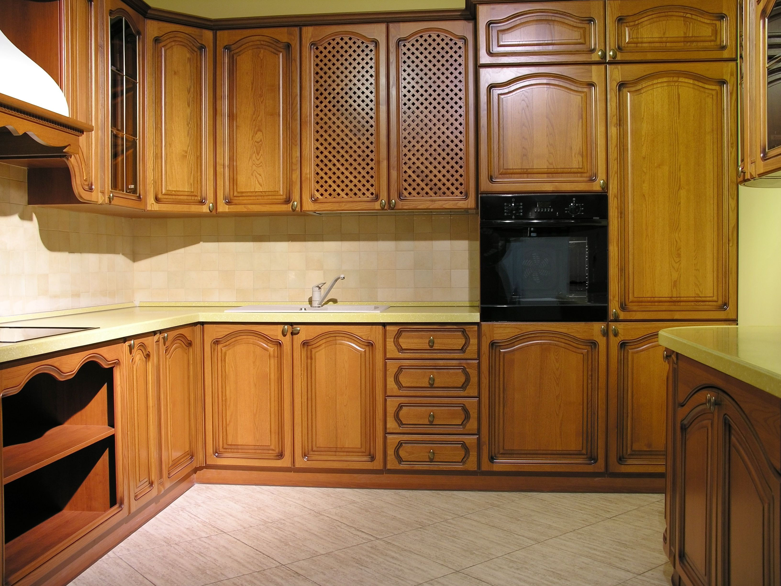 Recommended Wood For Kitchen Cabinets