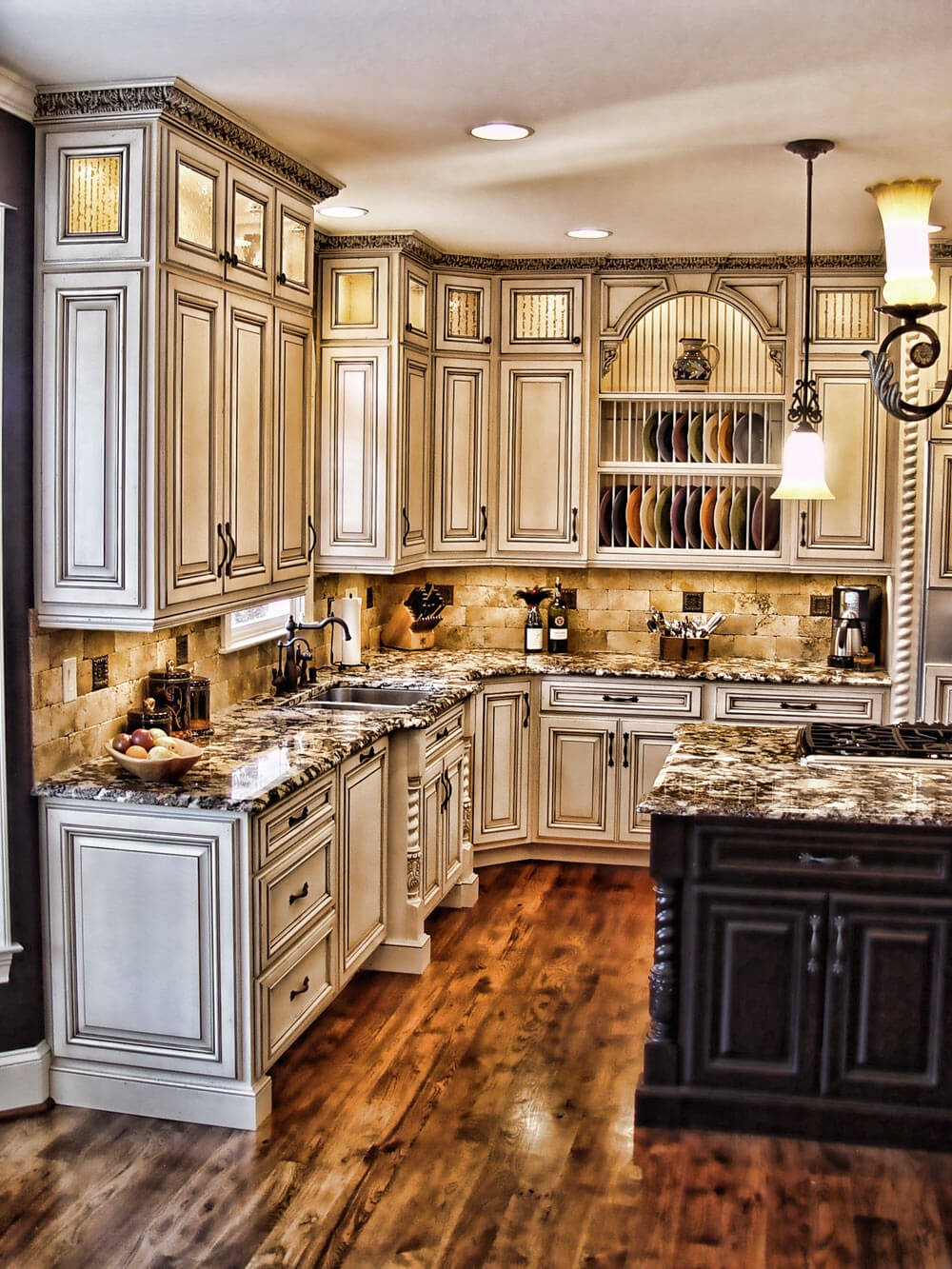 Rustic Kitchen Cabinet Colors1000 X 1333