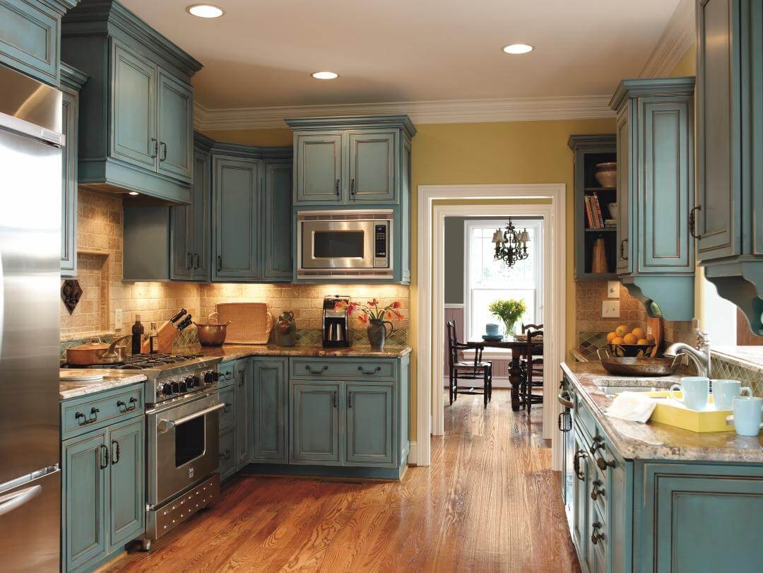 Rustic Kitchen Cabinet Ideas1080 X 811