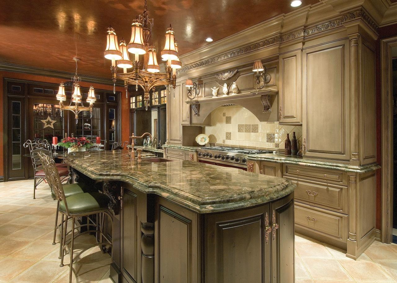 Traditional Kitchen Cabinets Images