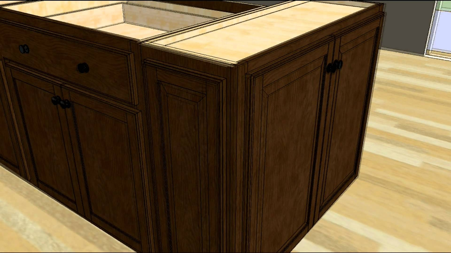 Wall Cabinet Kitchen Islandkitchen design tip designing an island with wall cabinet ends