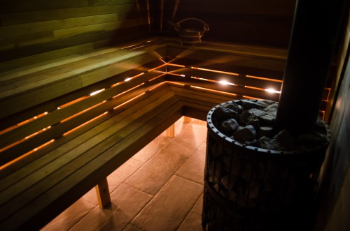 Sauna Interior 1