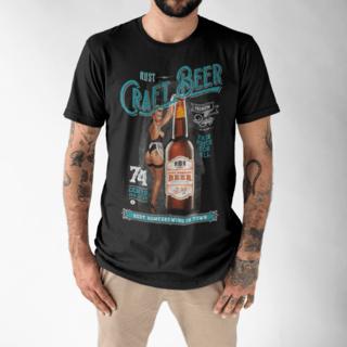 Camiseta RUST Craft Beer Black