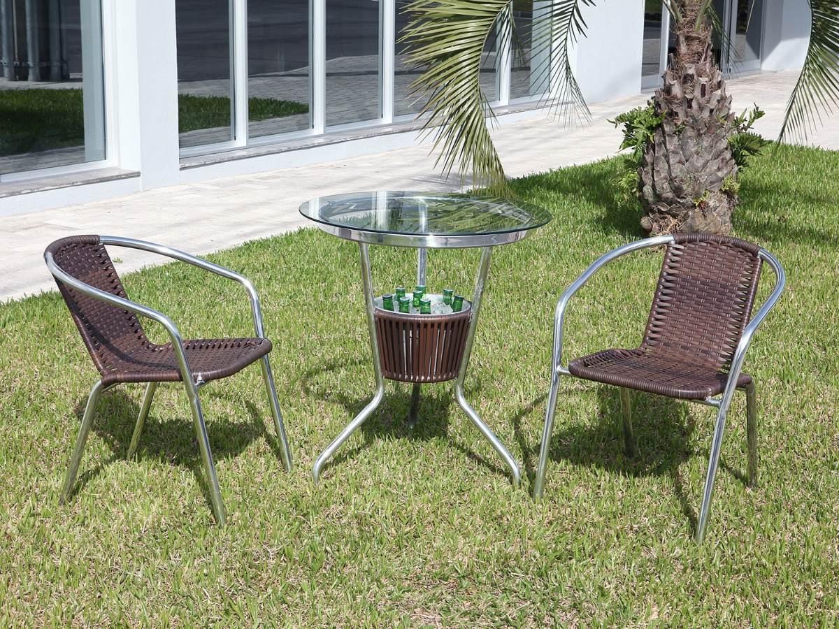 Conjunto Mesa com Balde e 2 Cadeiras Md 08