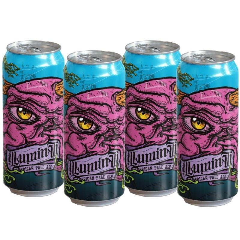 Illuminati American Pale Ale - 4 Latas 473ml