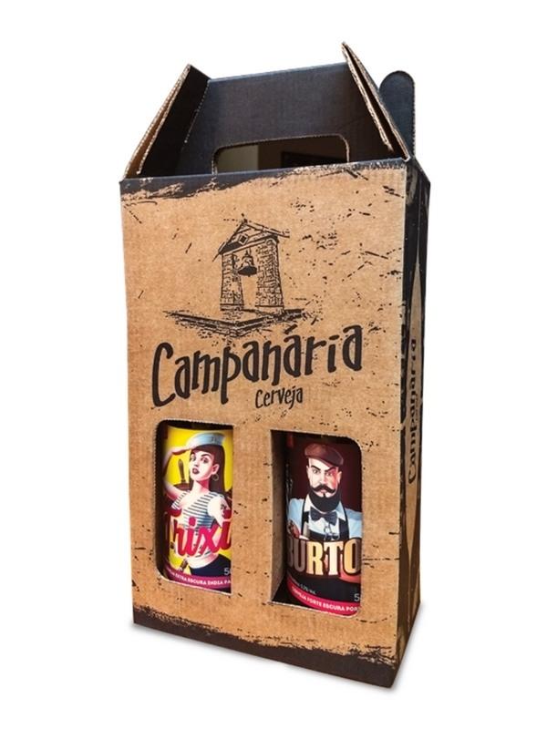 Kit Presente Campanária - 2 cervejas - IPA e Weiss