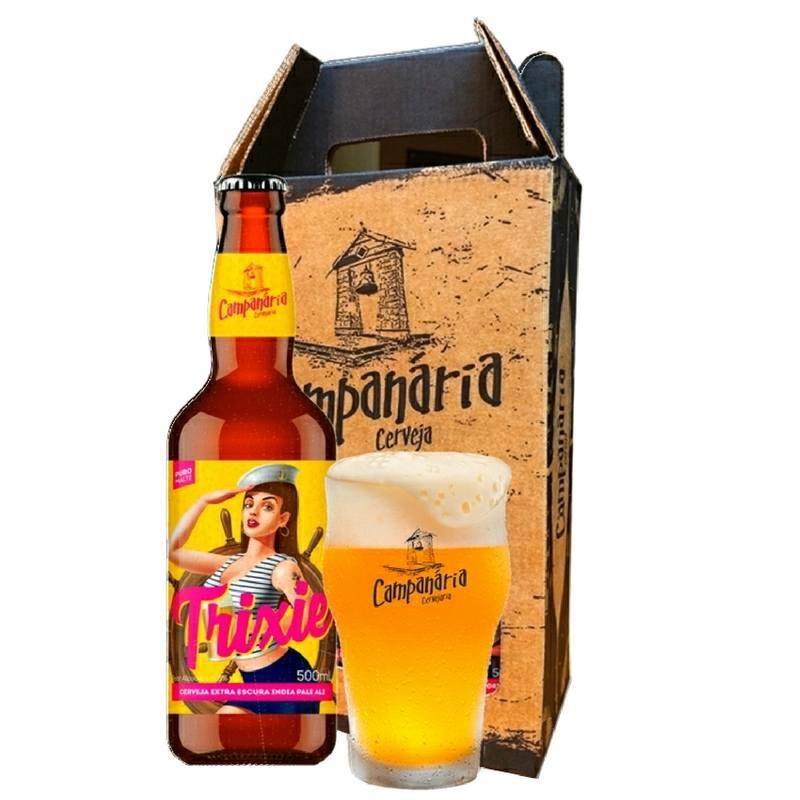 Kit Presente Campanária  IPA + Copo Half Pint